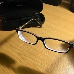 Dolce & Gabbana Black prescription glasses